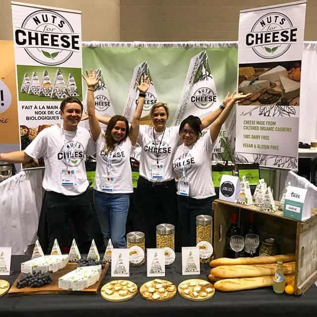 Nuts For Cheese team at vegfest