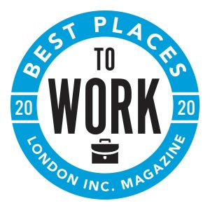 Best Places To Work 2020 London Inc Cert