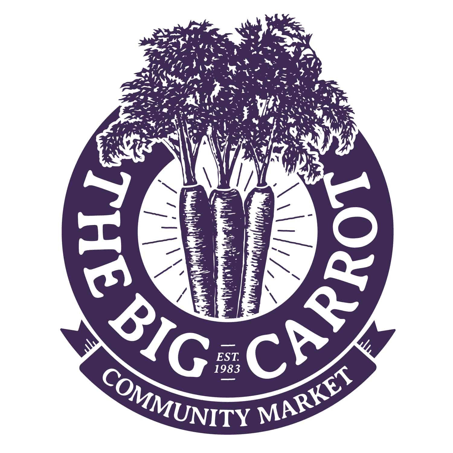 The Big Carrot logo